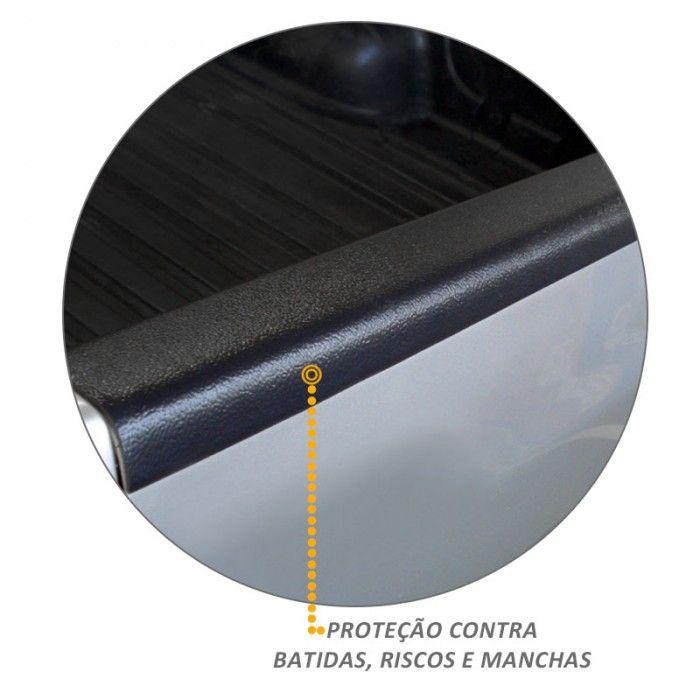 Protetor de Borda Traseira Amarok 2010 a 2018 Tampa Caçamba