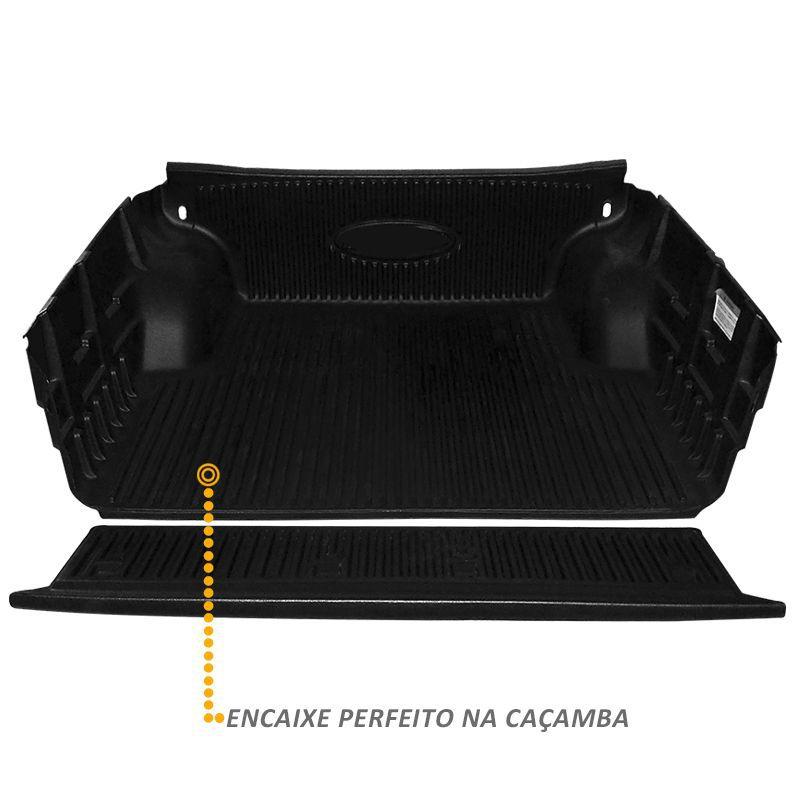 Protetor de Caçamba L200 Triton 2008 a 2018 Caçamba Curva
