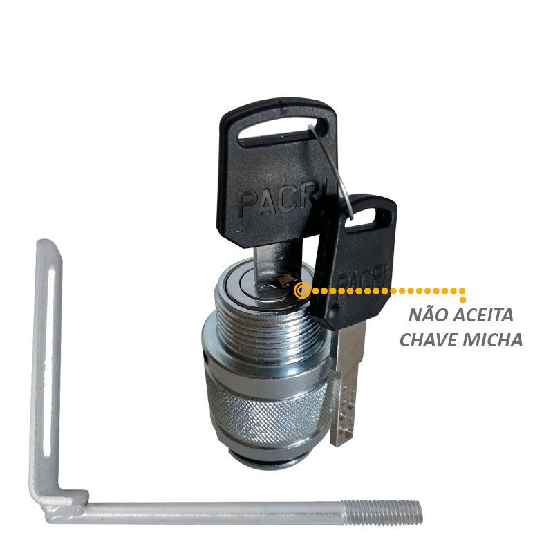 Protetor de Estepe S10 2012 a 2020 Antifurto Gtnox