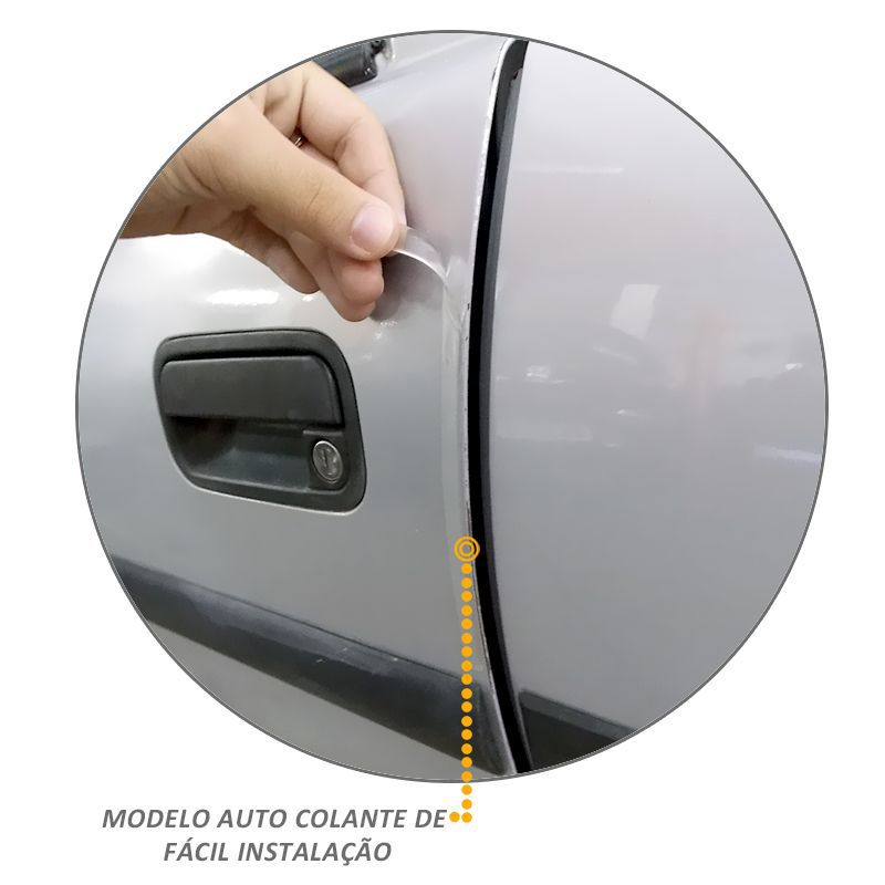 Protetor Canto de Porta Resinado Safe Door Universal