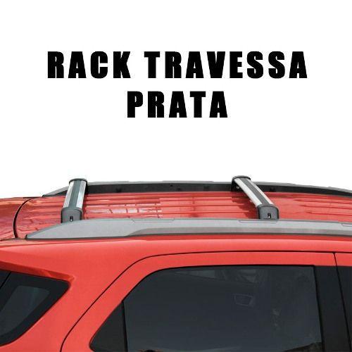 Rack De Teto Travessa Ecosport 2013 a 2016 Larga Preto Ou Prata