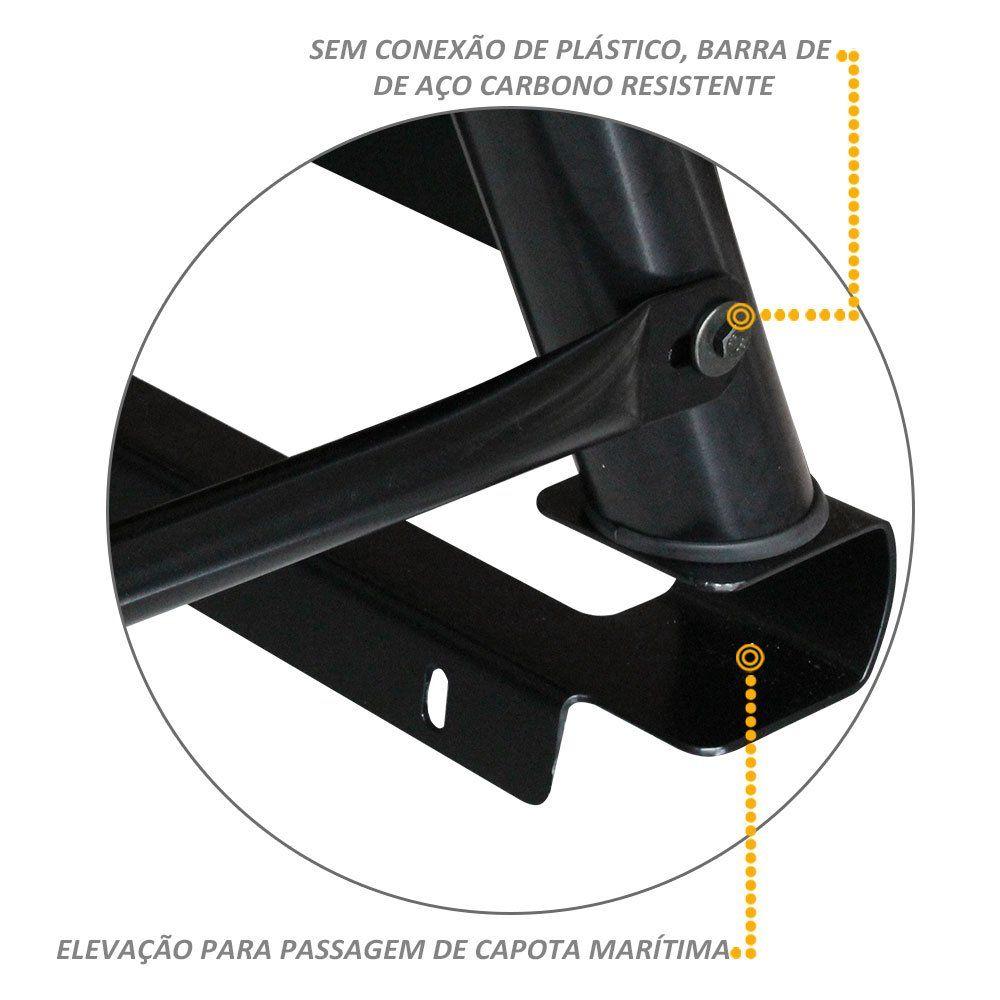 Santo Antonio Duplo Frontier 2017 a 2018 Bruto Preto Com Grade