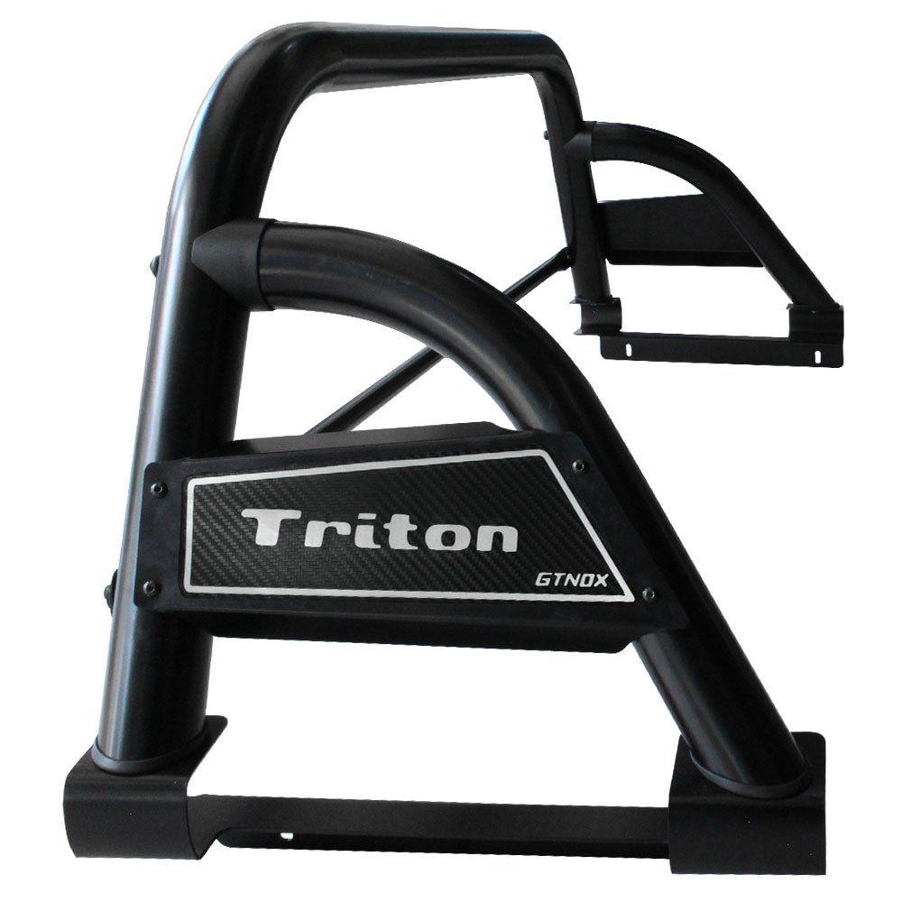Santo Antonio L200 Triton Sport 2017 2018 Preto Bruto Sport