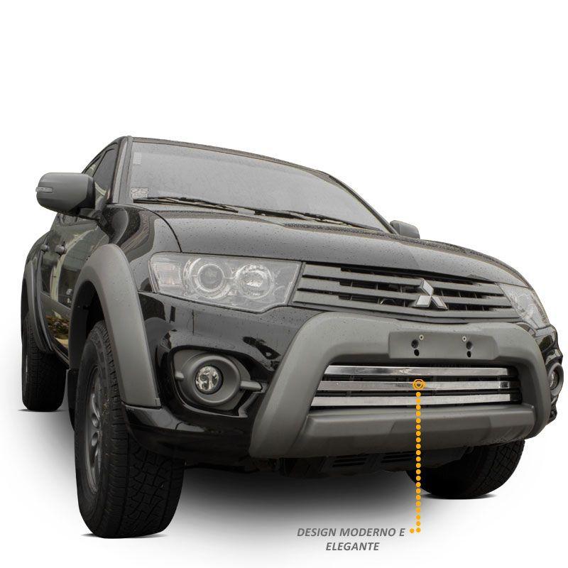 Sobre Grade L200 Triton Outdoor 2017 a 2019 Aço Inox Maxx