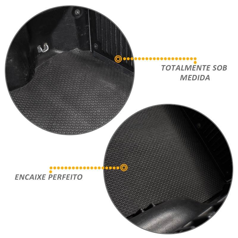 Tapete Caçamba Montana 2011 a 2018 em EVA 6mm Texturizado