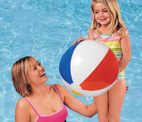 Bola Inflavel 51 Cm Infantil Piscina Mar Praia - Intex 59020