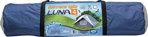 Barraca Camping Luna 4 Pessoas Mor 2,10 X 2,10 Pode Retirar