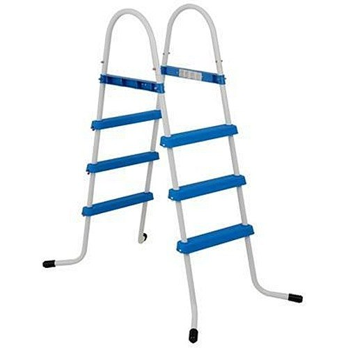 Escada Dupla Intex 3 Degraus 107cm Para  Piscina Inflável Estrutural
