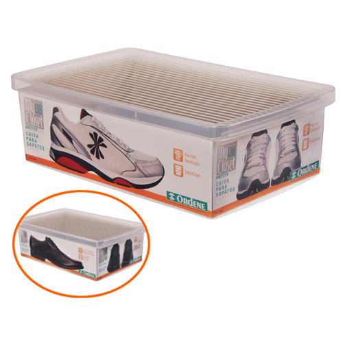 Caixa De Sapato Transparente Para Organizar - Grande