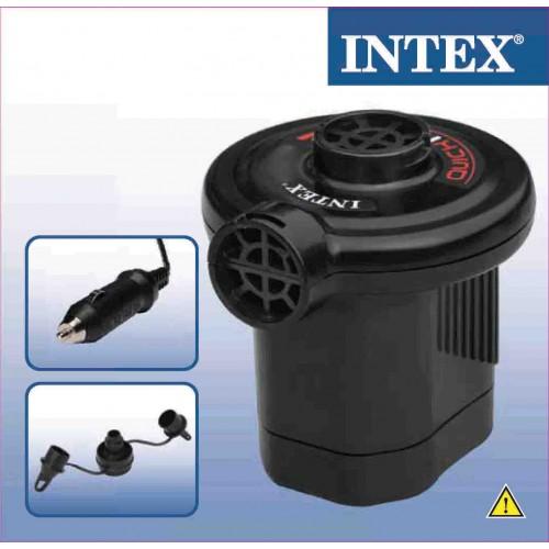 Bomba de Ar Elétrica 12v Veicular Quickfill Pequena  - Intex