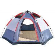Barraca Camping Montagem Automática Spider 5 Pessoas