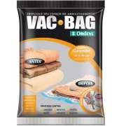 Saco A Vácuo Protetor e Organizador - VAC BAG 55 X 90 - Grande
