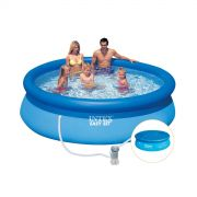 Piscina Inflavel Easy Set 3.853L + Filtro + Capa