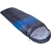 Saco De Dormir C/ Capus Viper 5ºc A 12ºc - Nautika + Sacola Azul