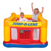 Pula Pula Playhouse Jump O' Lene Inflável Luxo - Intex