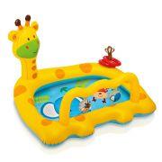 Piscina Inflável Infantil 53 Litros Girafa Divertida - Intex