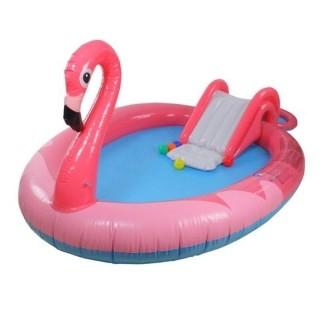 Piscina Playground infantil Flamingo Inflável Divertido Jilong