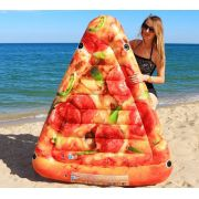 Bóia Colchão Inflável Pedaço de Pizza para Piscina Intex 58752