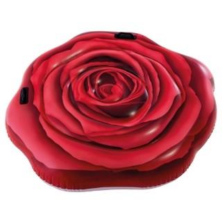 Bóia Colchão Inflável para Piscina Rosa Vermelha Intex