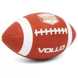 Bola de Futebol Americano Laranja Tamanho Oficial Vollo