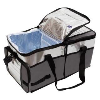 Bolsa Térmica Ice Cooler 48 Litros Até 64 Latas Cinza - Mor