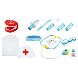 Brinquedo Kit Dentista com Luzes e Jaleco - Fênix