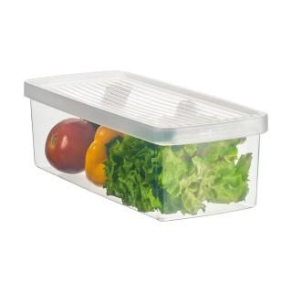 Caixa Plástico Organizadora Para Legumes e Salada Pequeno Ordene