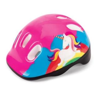 Capacete de Proteção Infantil 54 cm Unicornio Colorido