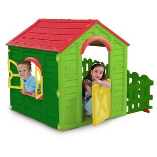 Casinha Infantil Com Cercadinho My Garden Keter
