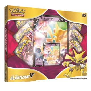 Coleção Pokemon Box Alakazam V 38 Cartas