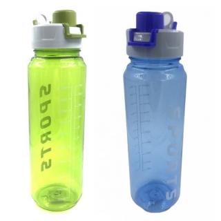 Garrafa Squeeze de Plástico com Tampa Sports 1 Litro