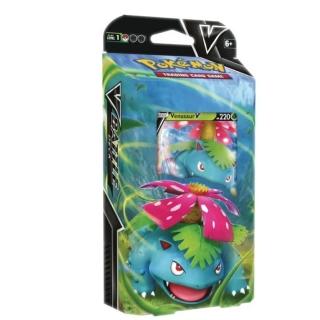 Jogo de Cartas Pokemon Baralho Batalha V 60 Cartas Venusaur