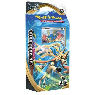 Jogo de Cartas Pokemon EEI Starter DECK 60 cartas Espada e Escudo Rixa Rebelde Zacian