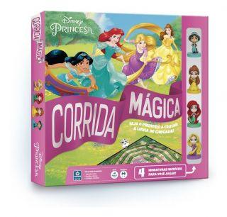 Jogo de Tabuleiro Corrida Mágica Princesas Disney