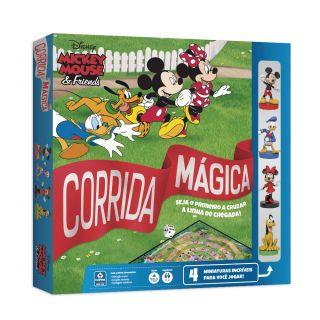 Jogo de Tabuleiro Disney Mickey Mouse e Amigos Corrida Mágica - Copag