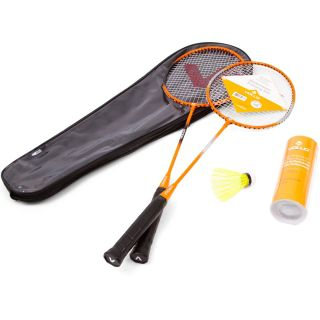 Kit Badminton Vollo 2 Raquetes 3 Petecas de Nylon - Vollo