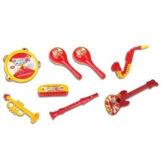 Kit Fanfarra Minha Primeira Banda Saxofone Violão Fenix