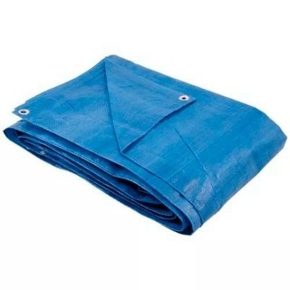Lona Forro Proteção Piscina 5 x 5 Metros 150 Micras Azul