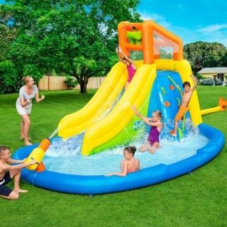 Mega Parque Aquático H2OGO Inflável Splashmore Bestway