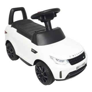 Mini Carro Eletrico 6v Infantil land rover Discovery Branco Importado