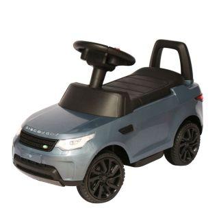 Mini Carro Eletrico 6v Infantil land rover Discovery Prata Importado