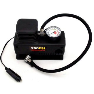 Mini Compressor De Ar 12v 250 Psi Pneu Bola Bike Piscina