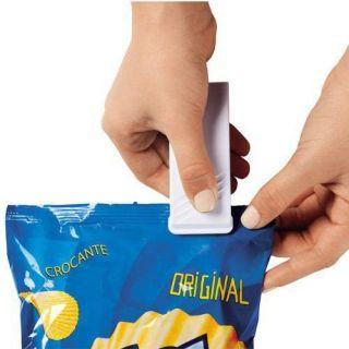Mini Selador de Embalagens Portatil A Pilha - Ordene