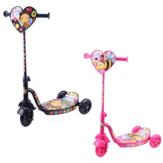 Patinete Infantil Estampado BEE 3 Rodas - Lotus