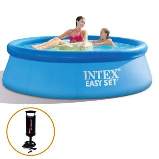 Piscina Inflável Easy Set 2.362 Litros + Bomba de Inflar Intex