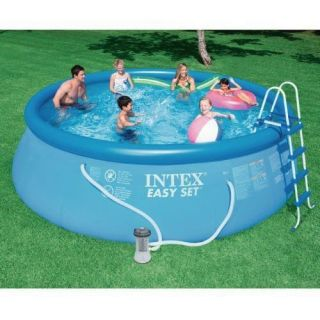 Piscina Inflável Easy Set 7.290 Litros Completa - Intex