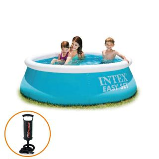 Piscina Inflável Easy Set 886 Litros + Bomba de Ar - Intex
