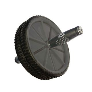 Roda Abdominal até 100 Kg Cinza - Acte