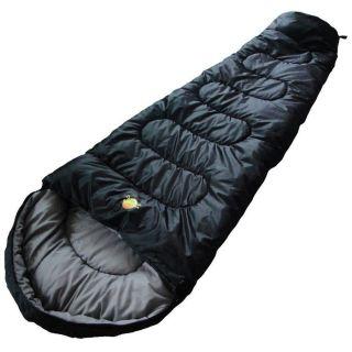 Saco De Dormir Tático 5°c A 15°c Ultralight Preto - Guepardo