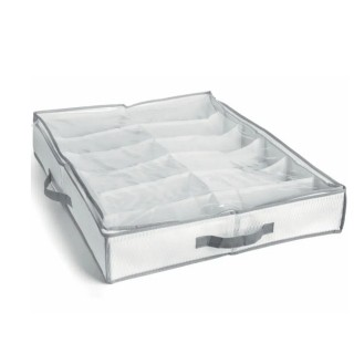 Sapateira Semi-Fexível Organizadora 12 Calçados Branca - My Closet